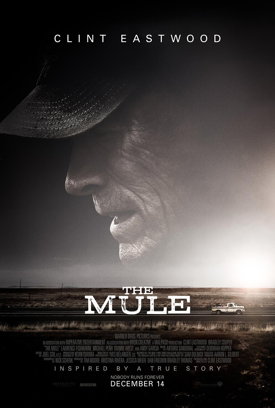 póster The Mule Clint Eastwood