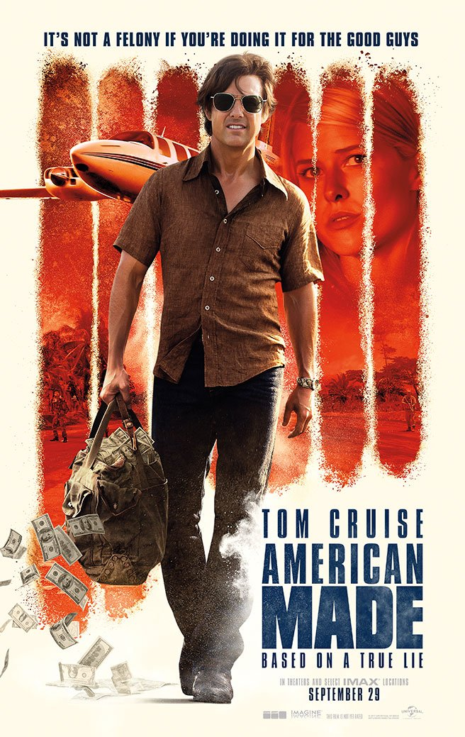 Tráiler de American Mad, con Tom Cruise