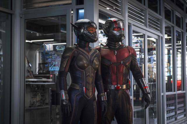 Ya podemos ver juntos The Wasp y Ant-Man