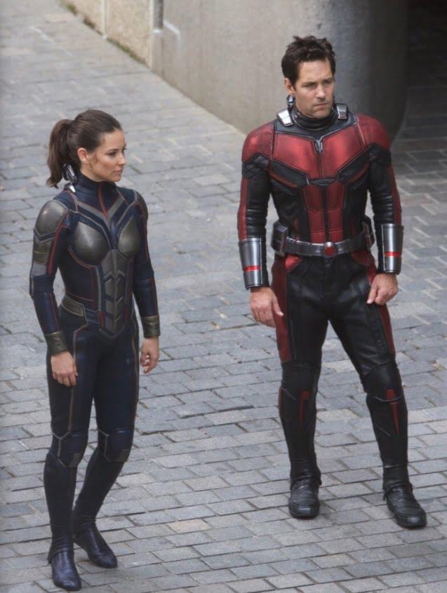 Nuevas imágenes desde el set de Ant-man and The Wasp