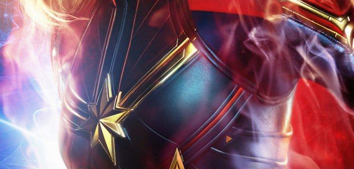 Pósters de los protagonistas de Capitana Marvel