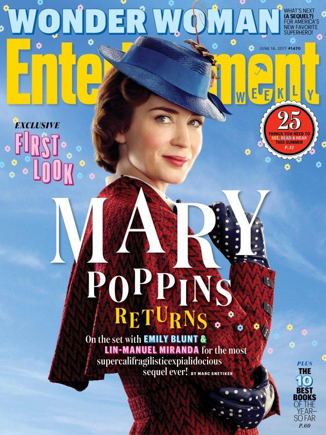 Nuevas imágenes de Mary Poppins Returns