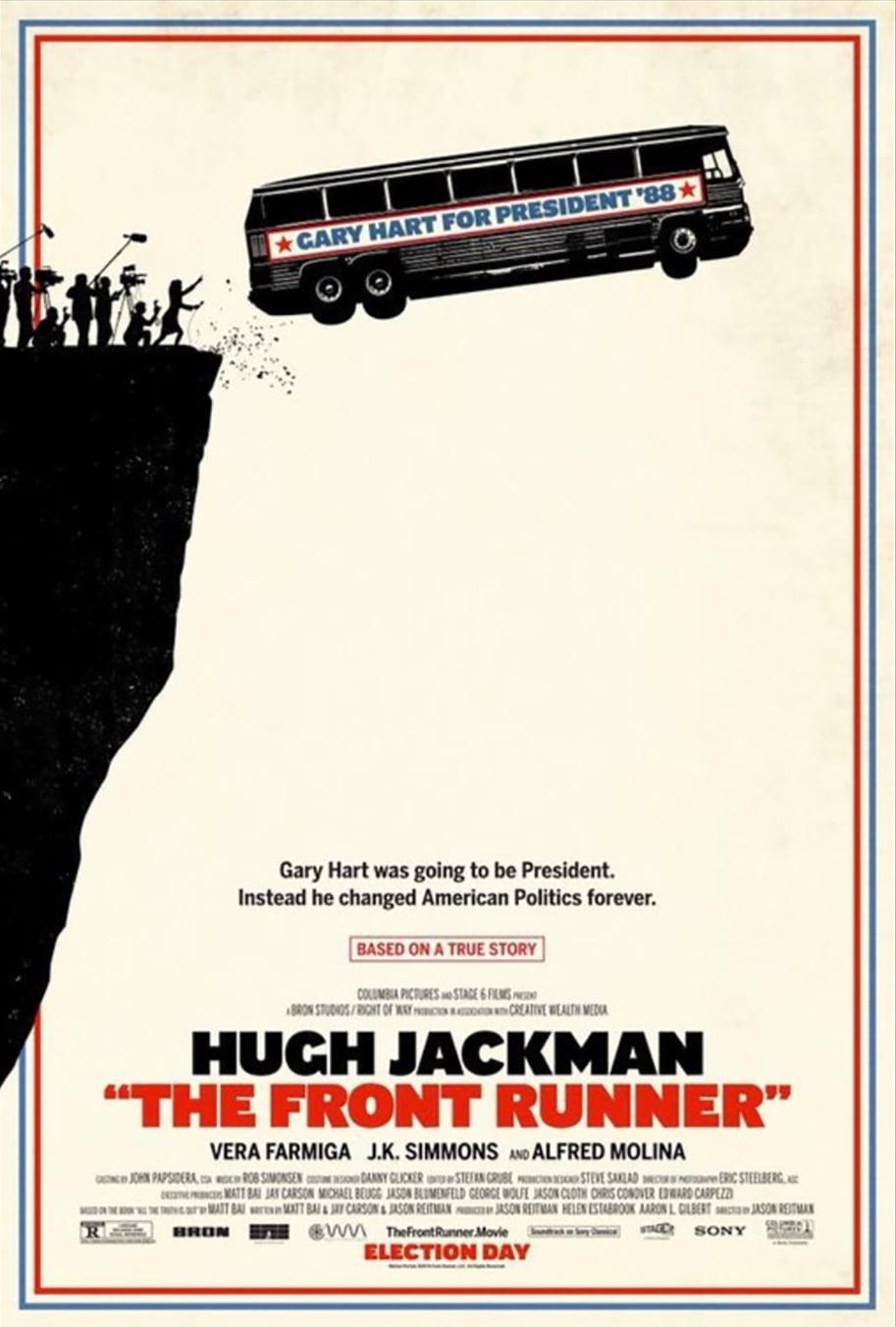 Tráiler de Front Runner con Hugh Jackman