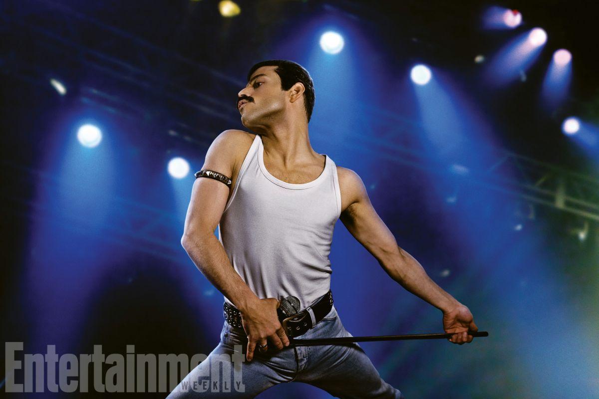Ya podemos ver a Rami Malek como Freddie Mercury