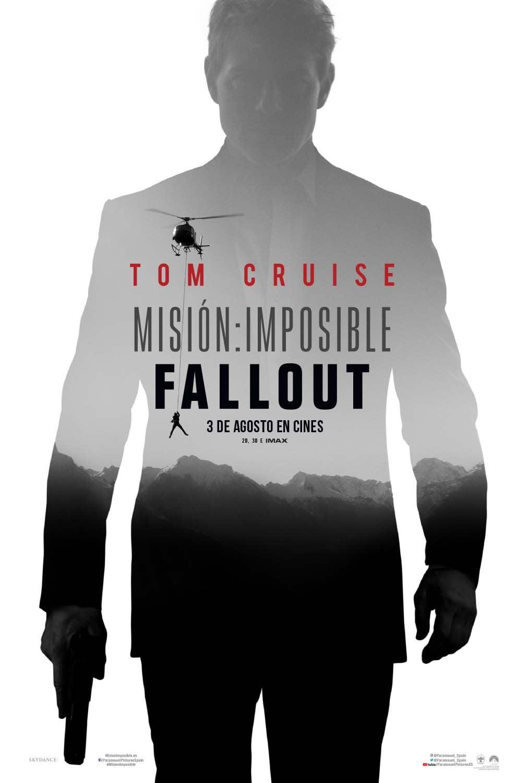 Primer póster de Misión Imposible 6: Fallout