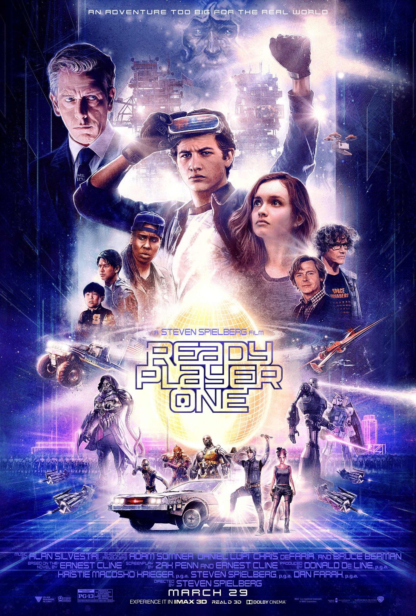 Resultado de imagen de ready player one movie poster