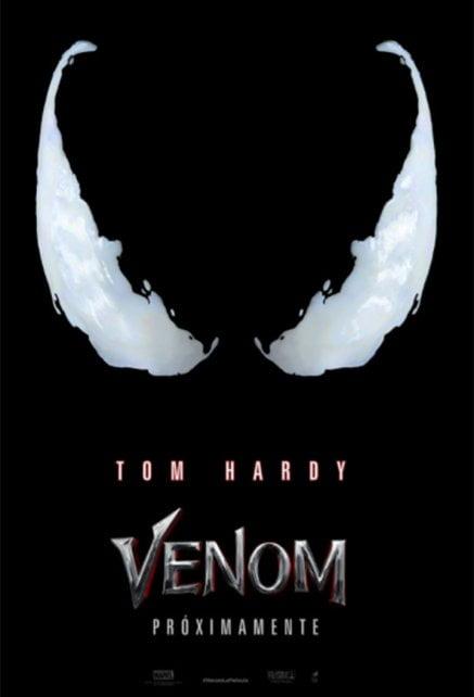 Primer tráiler de Venom, con Tom Hardy
