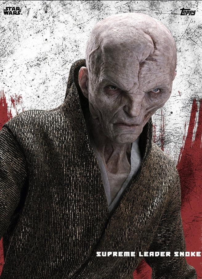 Ya podemos ver a todo color al Líder Supremo Snoke de Star Wars