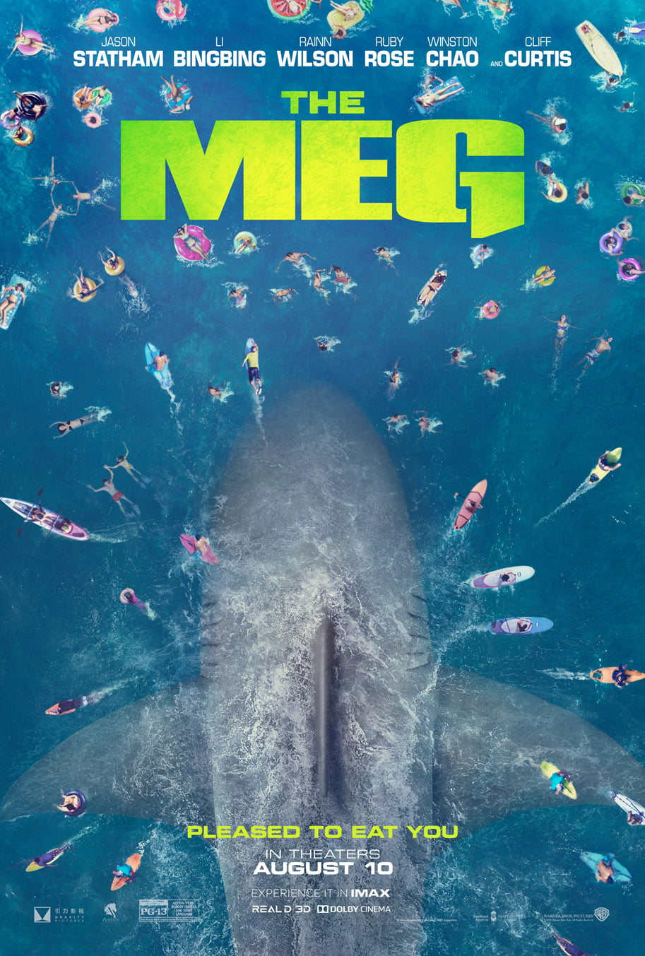 Primer tráiler de The Meg