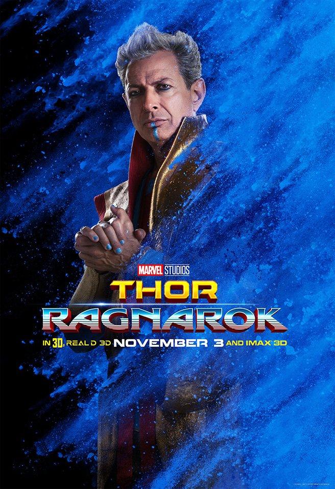 Nuevos pósters de Thor: Ragnarok