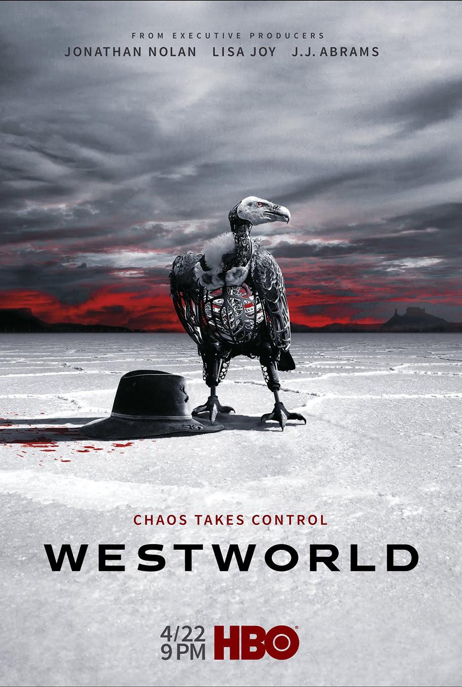 Nuevo póster de la segunda temporada de Westworld